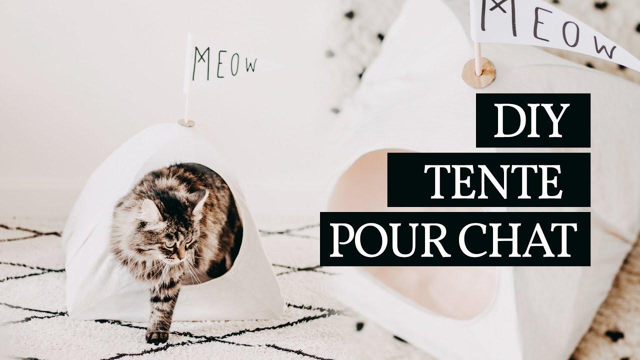 Tipi Pour Chat A Fabriquer tente pour chat | #zéro déchet