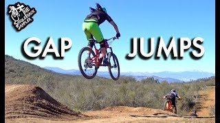 THESE GAP JUMPS WERE BIGGER THAN I EXPECTED! // The Singletrack Sampler