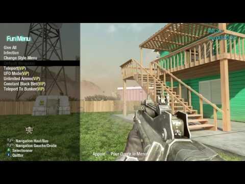 Black Ops 1: HOW TO INSTALL *FREE* USB Mod Menu/Lobby   PS3/XBOX360