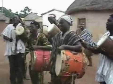 Ghana cultural dance Takai