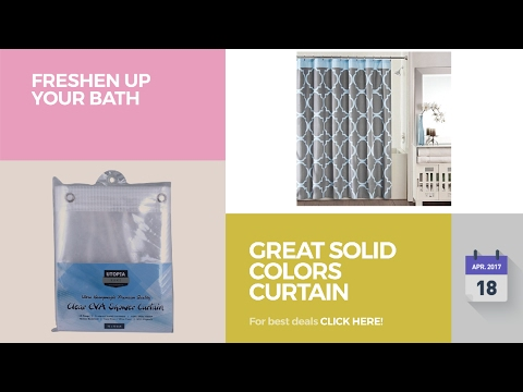 Great Solid Colors Curtain Collection Freshen Up Your Bath