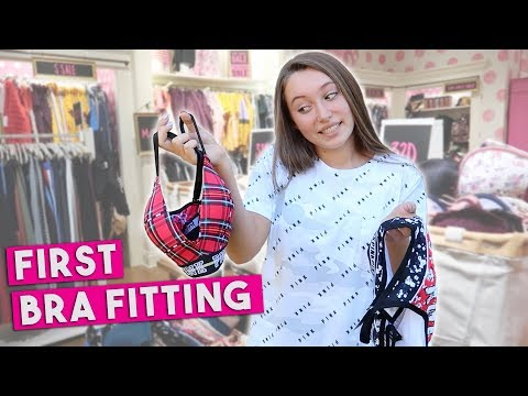 Buying Your First Bra! Victoria's Secret Haul!