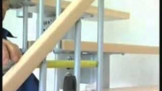 Монтаж маршевой лестницы Arke Kompact - 2/2(Пошаговый монтаж лестницы Arke Kompact Маршевая лестница Kompact - лестница 156 возможностей! Запатентованная лестн..., 2011-04-07T14:29:35.000Z)