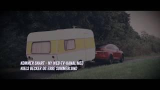 Tesla Model X P90D smadrer vores campingvogn - High on Cars
