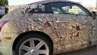 Carwrap Carwrapping Autofolierung Folierung Chrysler Crossfire full Digital Carwrap