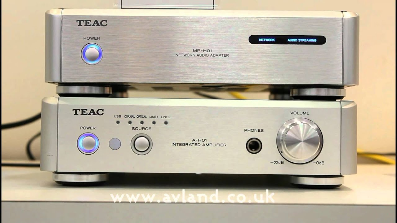 Watch on teac audio amplifier