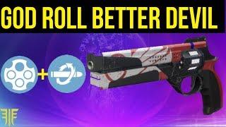 THE GOD ROLL BETTER DEVILS! (Outlaw + KillClip) Destiny 2 - Forsaken