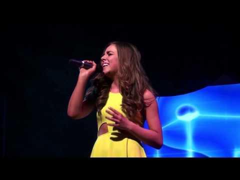 THE SILENCE  - Alexandra Burke cover version performed at TeenStar