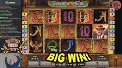 BIG WIN on Book of Ra Slot - £8 Bet!