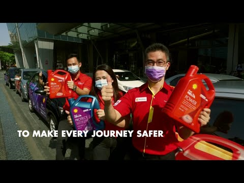 Shell Helix Power and Protect - #BecauseWeCare Initiative