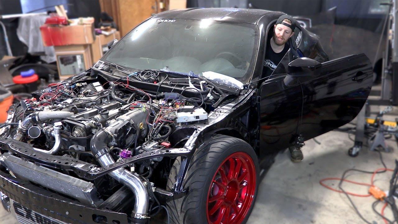 2jz brz pt 19 - alternator, power steering & wiring madness