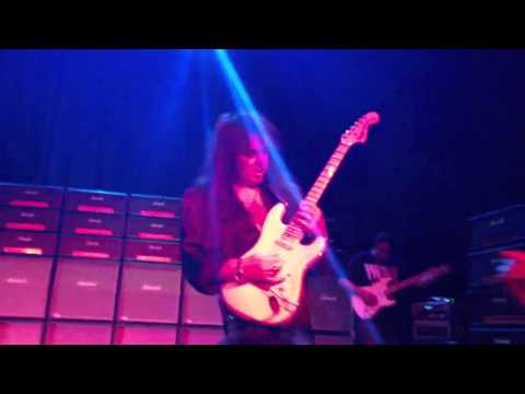 "Yngwie Malmsteen- ""Spellbound"" live at the Wilbur Theater B"