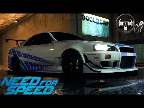 Logitech G27 ile Need For Speed PC // Paul Walker Anısına #8
