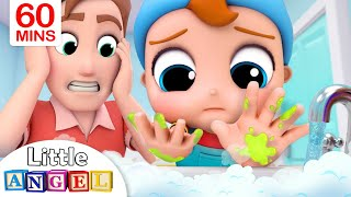 Wash Yours Hands Song | Healthy Habits | Little Angel Kids Songs & Nursery Rhymes