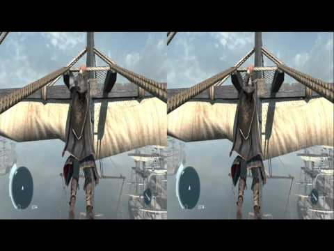 PlayStation 3 Oculus Rift VR: Assassin's Creed 3 3D : the first PS3 Oculus Rift 3D demo