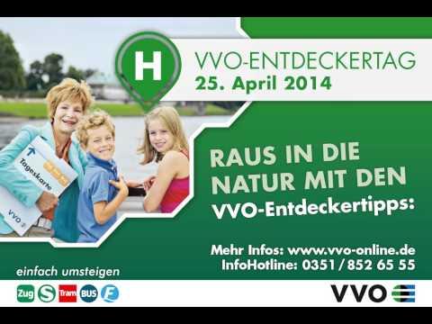 VVO-Entdeckertag am 25. April 2014