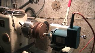 Routing On A Lathe