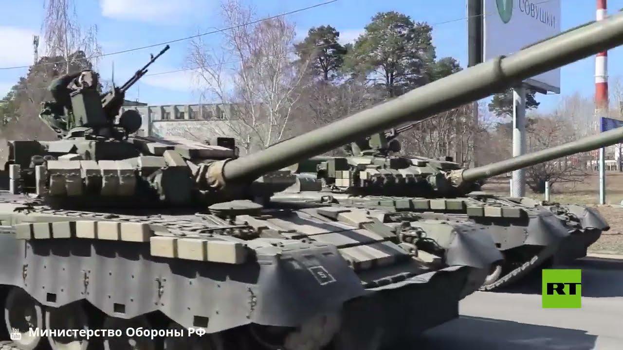 تدريبات العسكريين الروس في يكاترينبورغ تحضيرا للعرض العسكري بمناسبة النصر على النازية  - نشر قبل 2 ساعة