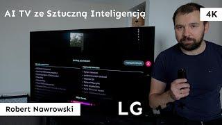 Sztuczna inteligencja w telewizorze LG | LG OLED 55 B8 | Robert Nawrowski