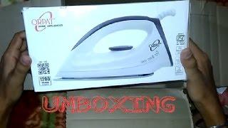 Orpat OEI 187 1200-Watt Dry Iron Unboxing & Review!!
