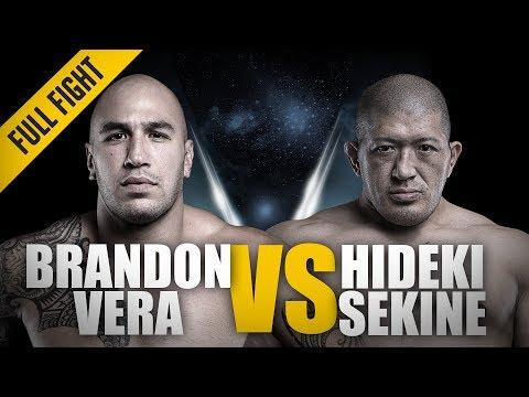 ONE: Full Fight | Brandon Vera vs. Hideki Sekine | First Title Defense | December 2016