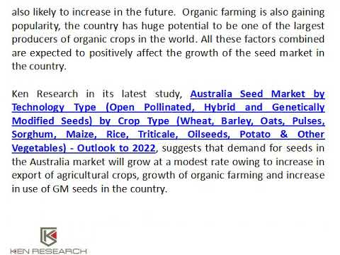 Grain Seeds Exports from Australia, Land under Cultivation in Australia - Ken Research