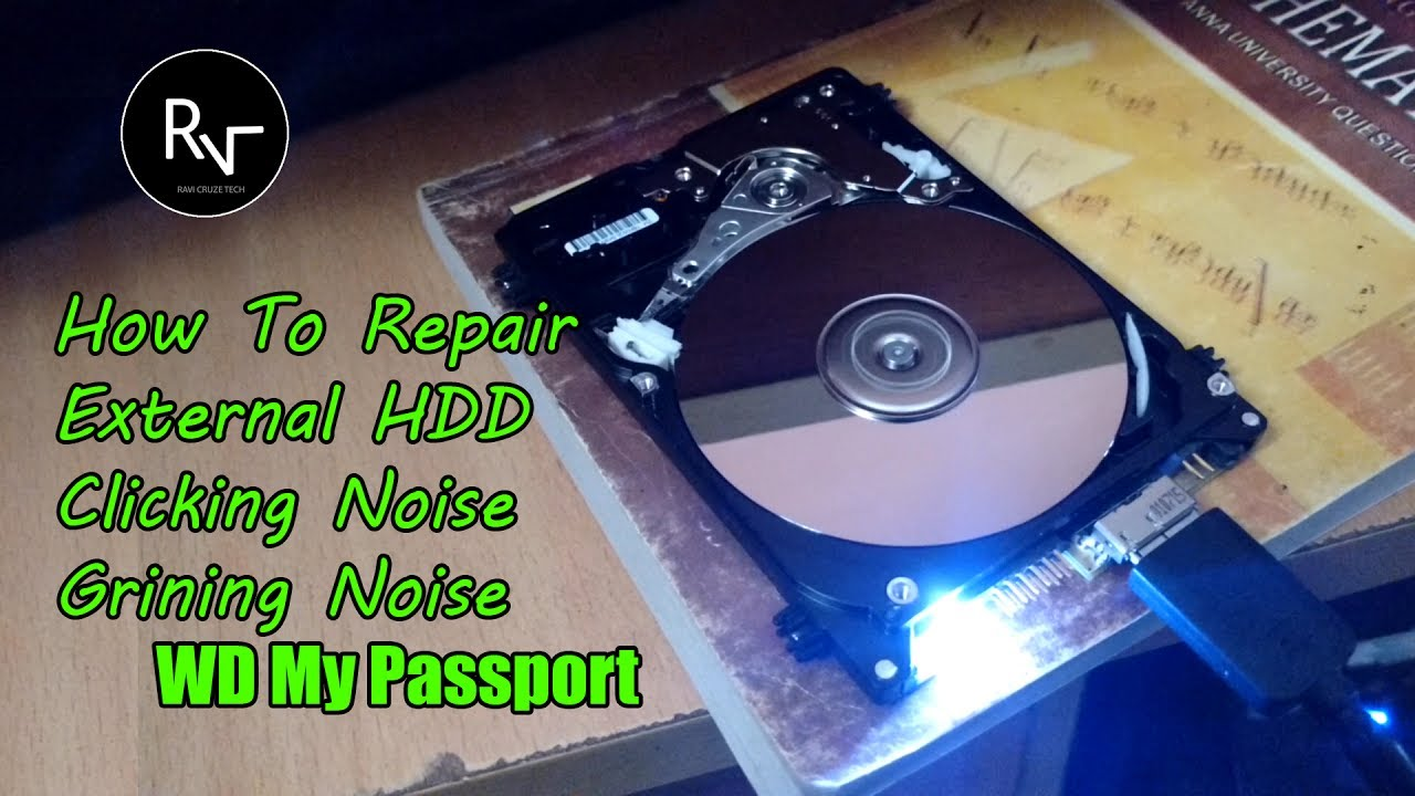 WD My Passport - Bad Sector Problem | Clicking Noise
