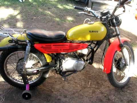 1969 yamaha 50cc enduro for sale kingston ontario youtube. Black Bedroom Furniture Sets. Home Design Ideas