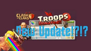 New Released Info on the next Clash of Clans Update - Troop Donation Counter