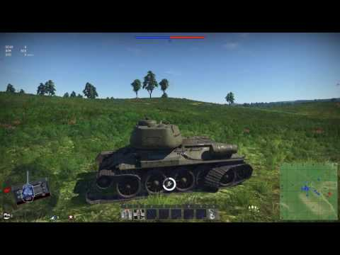 War Thunder Танковая аркада прохождение Аркадные бои Танковый штурм