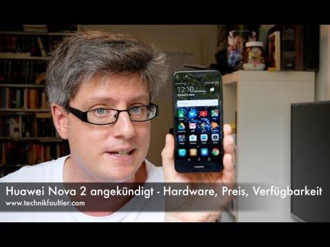 Huawei Nova 2 angekündigt - Hardware, Preis, Verfügbarkeit