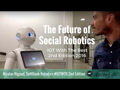 Nicolas Rigaud, SoftBank Robotics : The Future of Social Robotics at #IOTWTB