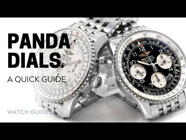 Panda Dials: A Quick Guide | SwissWatchExpo