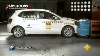 Crash test Global NCAP India - Volkswagen Polo con Airbag