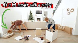 PUTTING TOGETHER IKEA FURNITURE + CUSTOM CLOSET UPDATE!