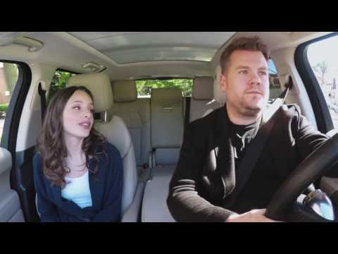 Carpool Karaoke with James Corden & Aja9 video