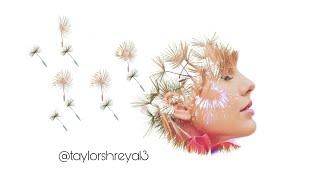 Edit tutorial 4 (blend edit on picsart) Taylor Swift edit