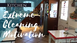 Extreme Cleaning Motivation // KITCHEN