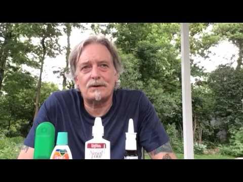 help for nasal spray addiction or rebound congestion
