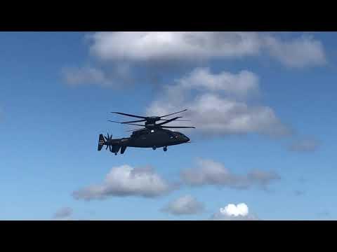 Sikorsky-Boeing SB-1 Defiant Takes Flight