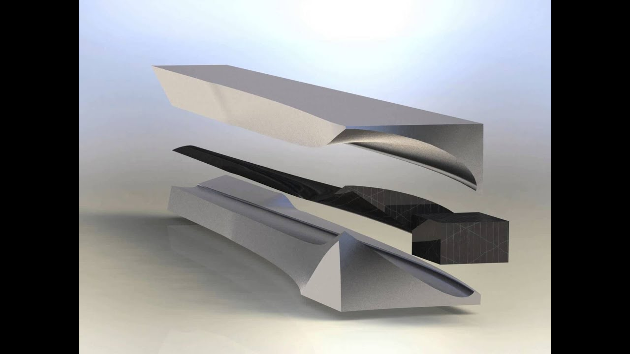 Wind turbine blade 10 mould asm. 3D model from CGTrader.com - YouTube