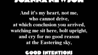 Joanna Newsom - Good Intentions Paving Company (with lyrics)