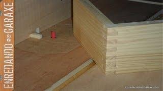 Guía para cortar uniones tipo dedo o lazos para cajas. Finger joint jig, box joint  jig thumbnail