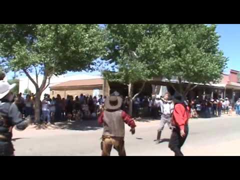 Gunfight Near the Ok Corral Show in Tombstone, Arizona