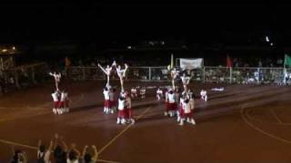 WMSU Palaro 2010 Cheerdance Competition - Wolves