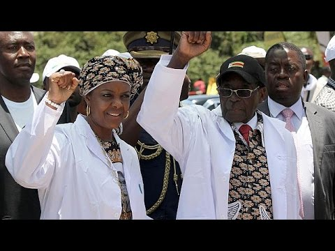 Zimbabwe's President Mugabe says he will remain in office 'as long as he has strength'.