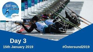 Biathlon Sprint   Ostersund 2019