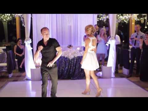 Dirty Dancing Time of My Life Wedding Dance w Lift & Black Eyed Peas Dirty Bit  Jesse & Rachel