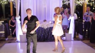 Dirty Dancing Time of My Life Wedding Dance w/ Lift & Black Eyed Peas Dirty Bit - Jesse & Rachel