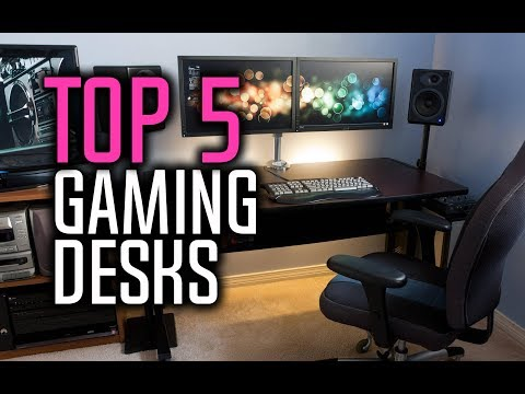 Best Gaming Desks in 2018 - Which Is The Best Gaming Desk?